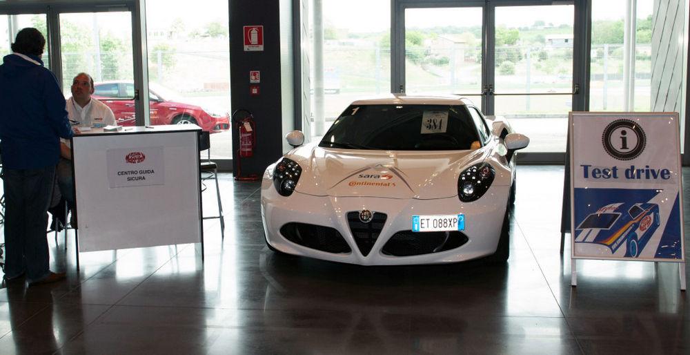Roma Motor Show 2016Vallelunga 14.05.2016 Nella foto: stand ACI guida sicura