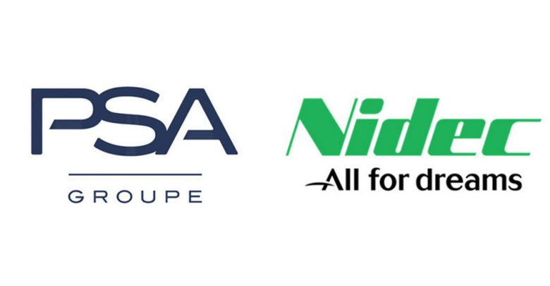 Motori elettrici Groupe PSA Nidec Timeline