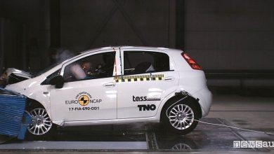 Crash test Fiat Punto Euro NCAP