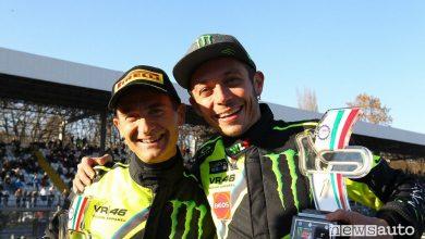 Classifica Rally di Monza 2017 Valentino Rossi