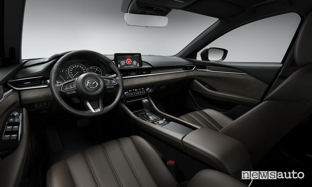 Mazda Ginevra 2018 interni Mazda6