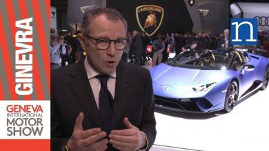 Sefano Domenicali Lamborghini Geneve MotorShow 2018