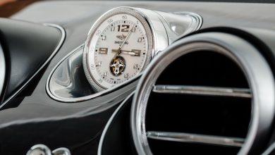 Orologio auto Bentley cambio ora legale