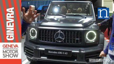 Mercedes Amg G63 2018 ginevra