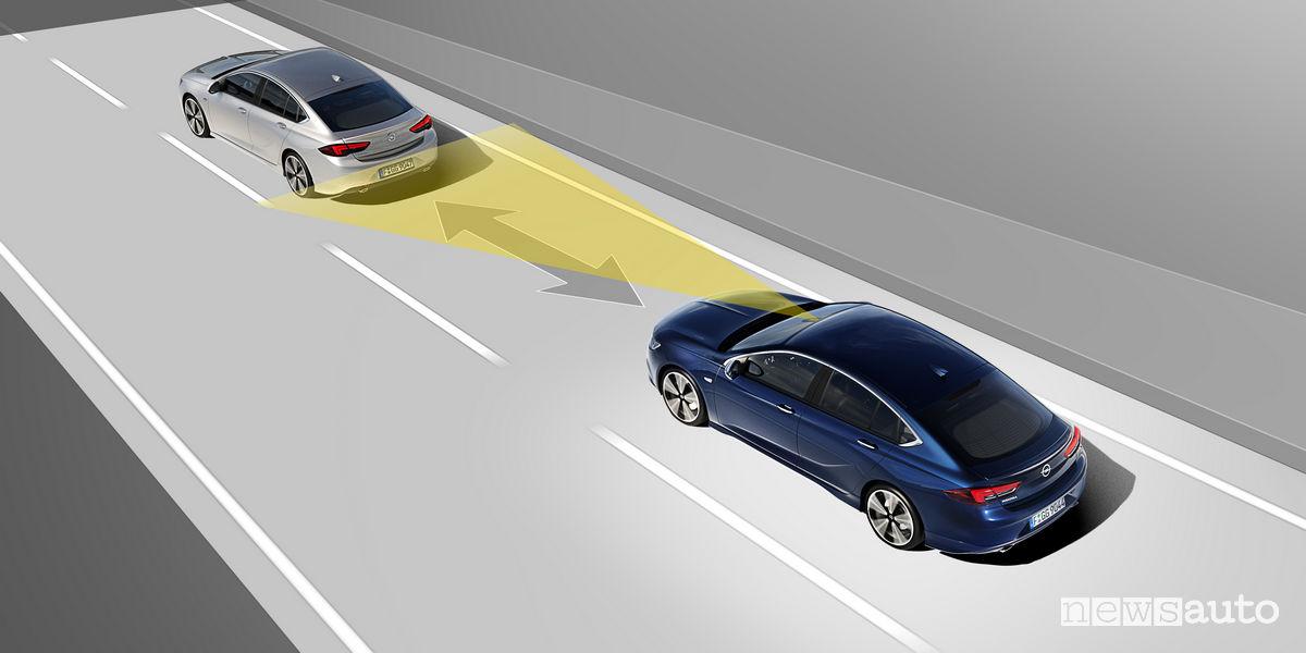 Opel Cruise Control Adattivo