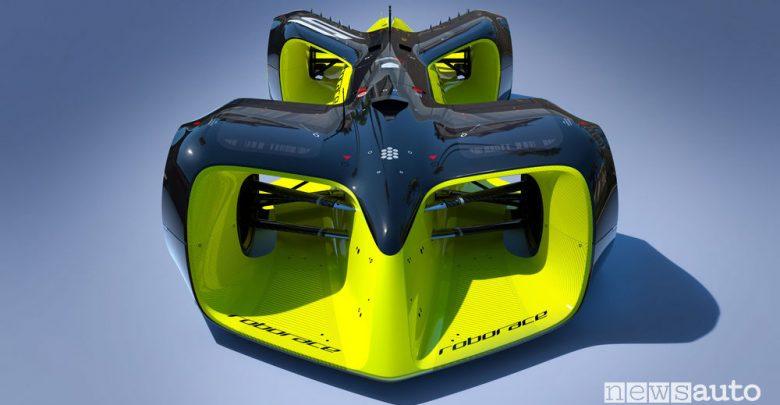 Roborace campionato autonomo. Auto da corsa del futuro