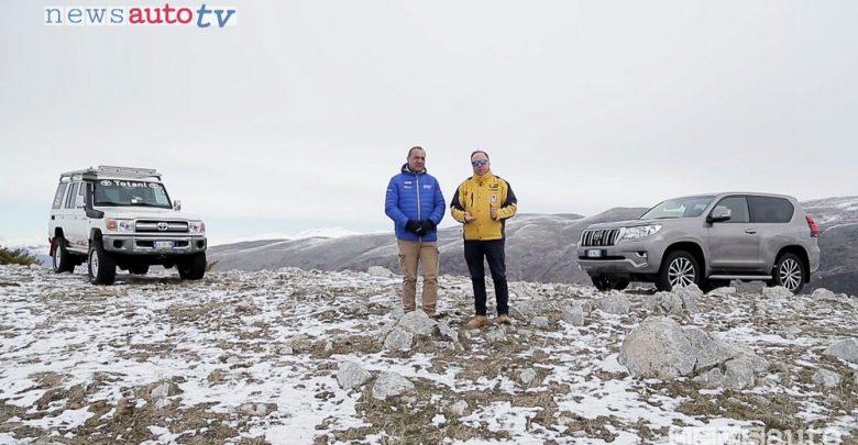 Toyota Land Cruiser video confronto