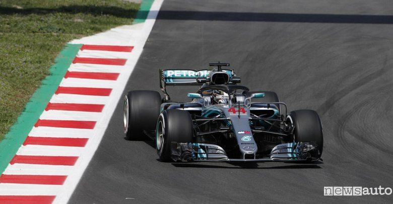 F1 2018 classifiche gara Spagna Mercedes Hamilton