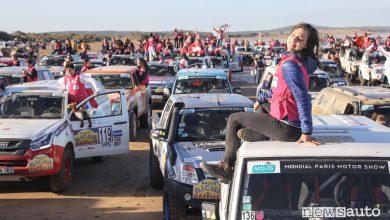 Rally femminile Rallye Aicha des Gazelles