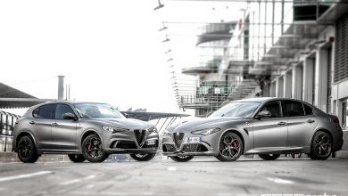 Alfa Romeo Nurburgring Giulia e Stelvio