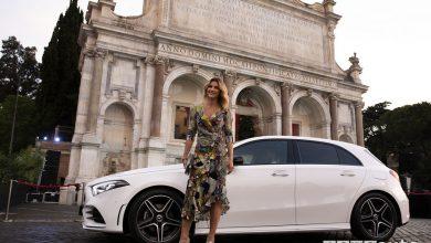Mercedes Classe A MBUX a Roma