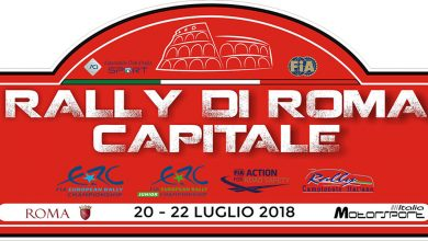LOGO Rally di Roma Capitale 2018