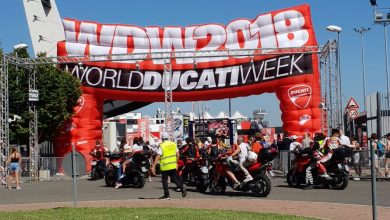 World Ducati Week Misano 2018 arco ingresso